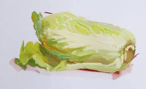 画好蔬菜的技巧让你的色彩快速提分