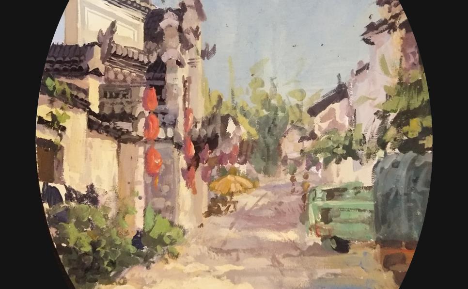 王佳韦作品欣赏